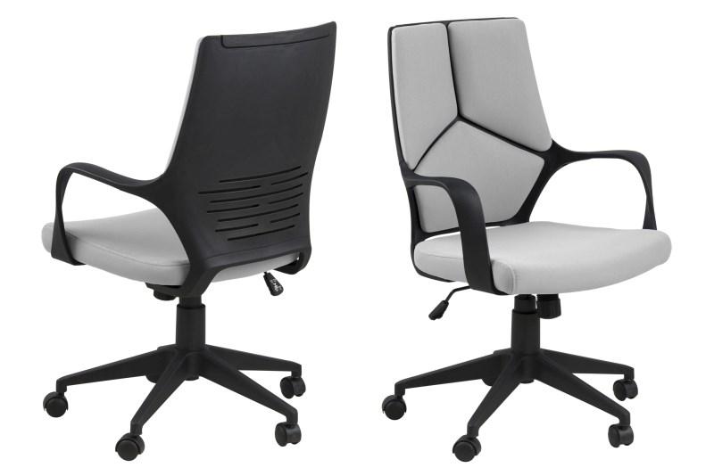 Bureau Stoel Kopen : Bureaustoel hub laag u grijs bureaustoel kopen