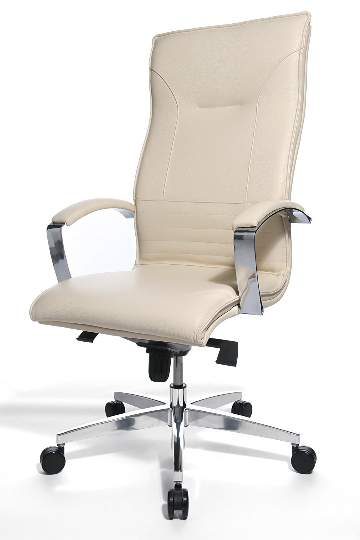Directie Bureau Stoel.Directie Bureaustoel Lean On 5 Creme Leder Bureaustoel Kopen