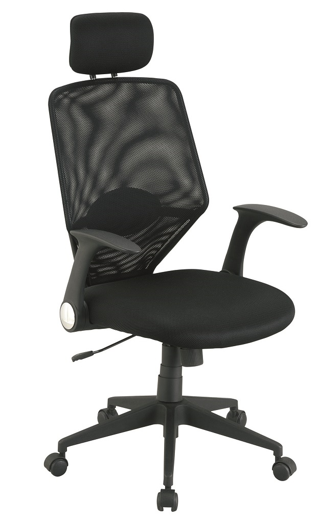Hoge Bureaustoel Kopen.Bureaustoel Breda Zwart