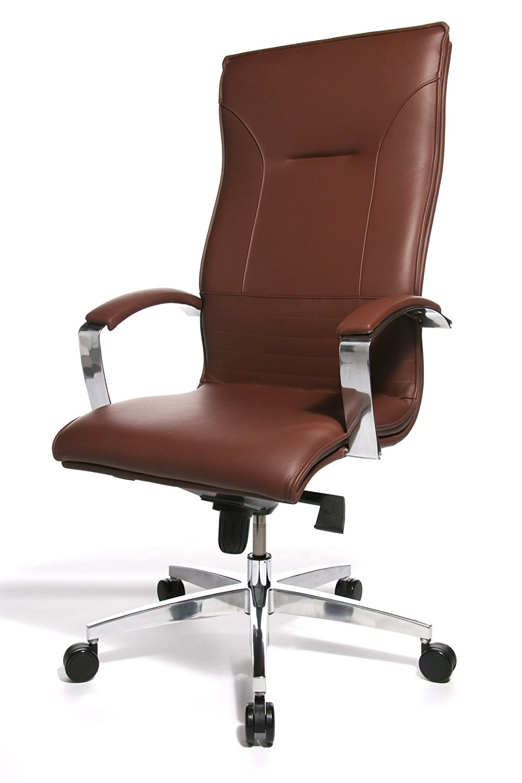 Bureaustoel Bruin Leer.Directie Bureaustoel Lean On 5 Bruin Leder Bureaustoel Kopen