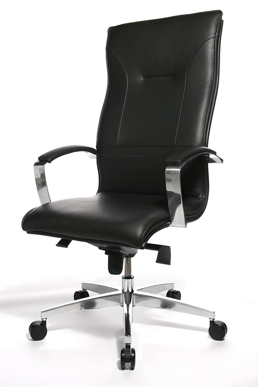 Lederen Bureaustoel Kopen.Directie Bureaustoel Lean On 5 Zwart Leder